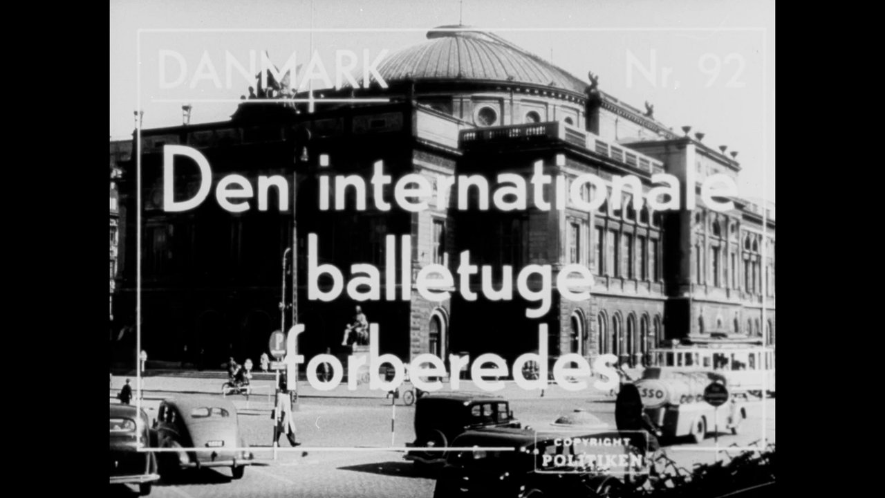 Den internationale balletuge forberedes