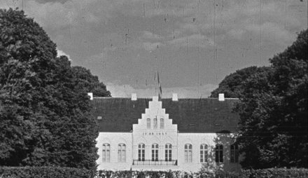Optagelse paa Halsted Kloster 1944